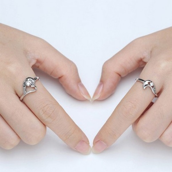 price lover sterling for you crystal love s a silver stylish rings with pair shining quot heart
