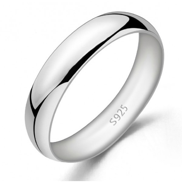 simple and elegant 925 sterling silver menwomens promise
