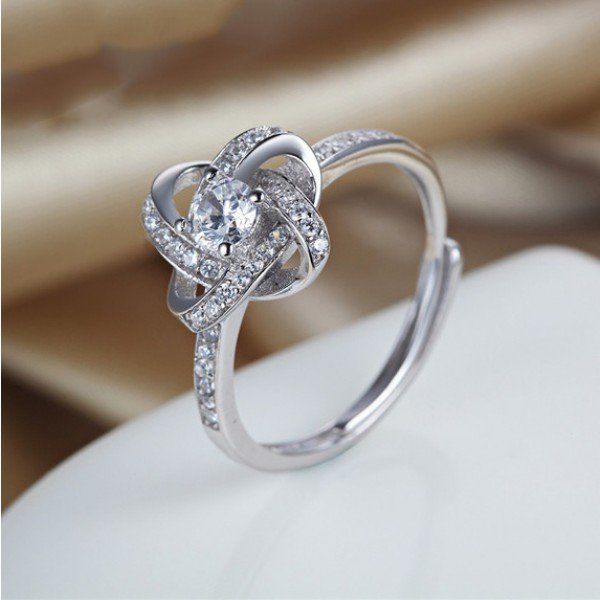 Korean Personality Interwoven S925 Sterling Silver
