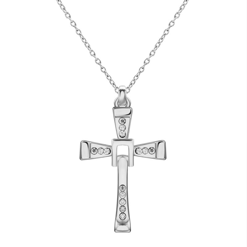 b14d053325e4a The Fast And The Furious Dominic Toretto Cross Necklace Chain Pendant