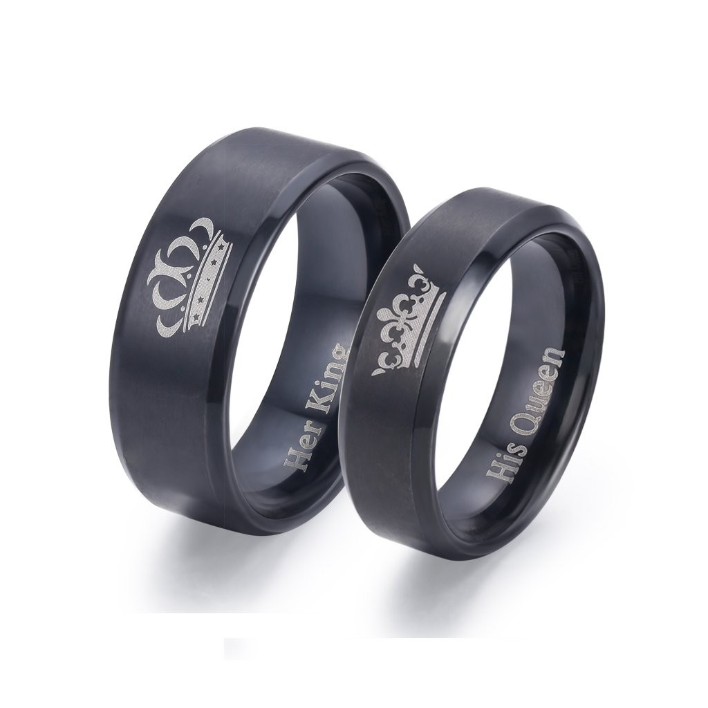 King And Queen Rings For Couples