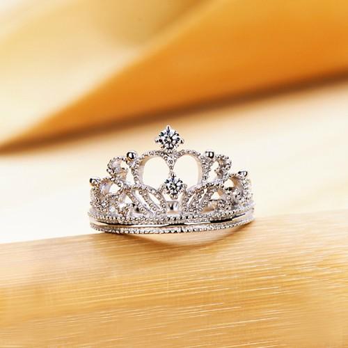 prevnext - Crown Wedding Ring