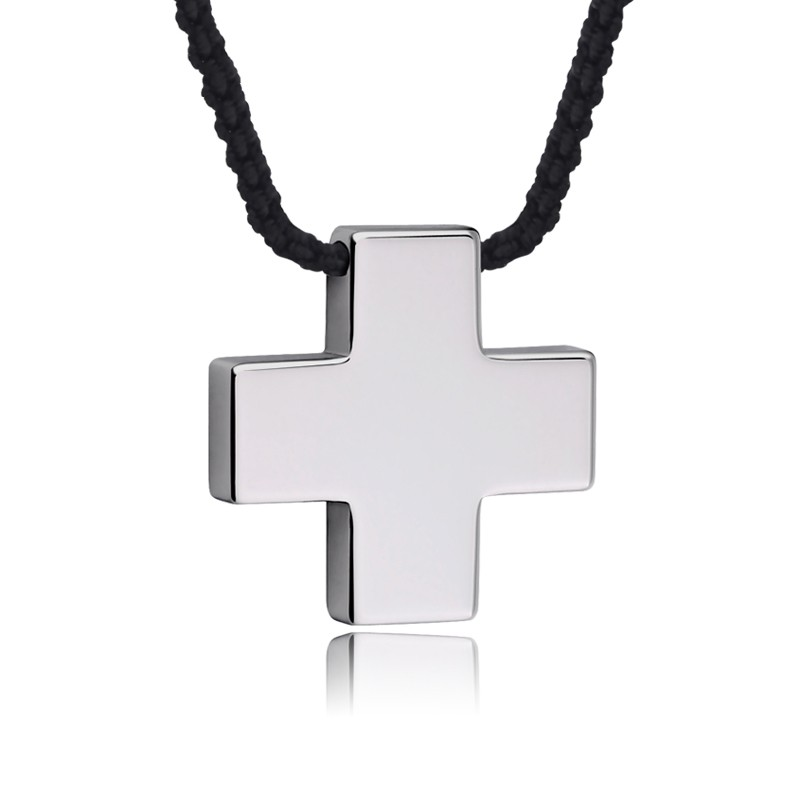 Tungsten gold cross mens necklace mens necklaces tungsten gold cross mens necklace aloadofball Image collections