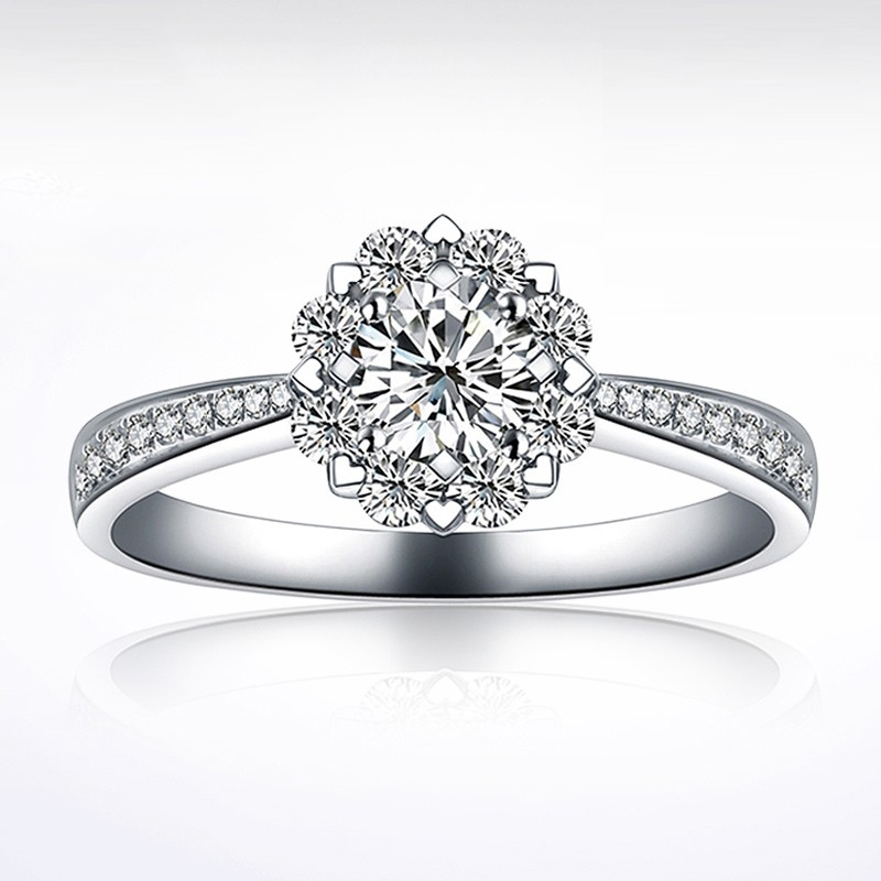 romantic with new filled gold white product wedding women cz rings diamond vintage simulated aaa for