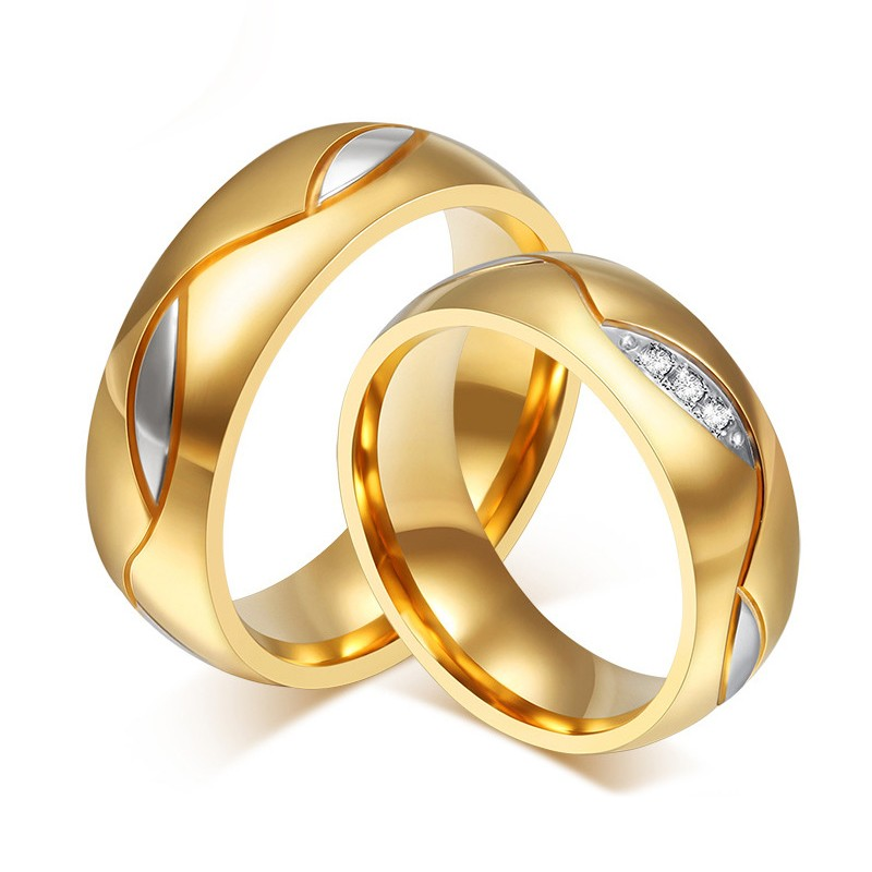 32262e2d59 Lover's Black Titanium Steel Rings For Couple(Price For a Pair) - Love Rings