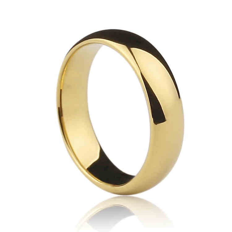 Personalized Golden Ring - Mens Rings
