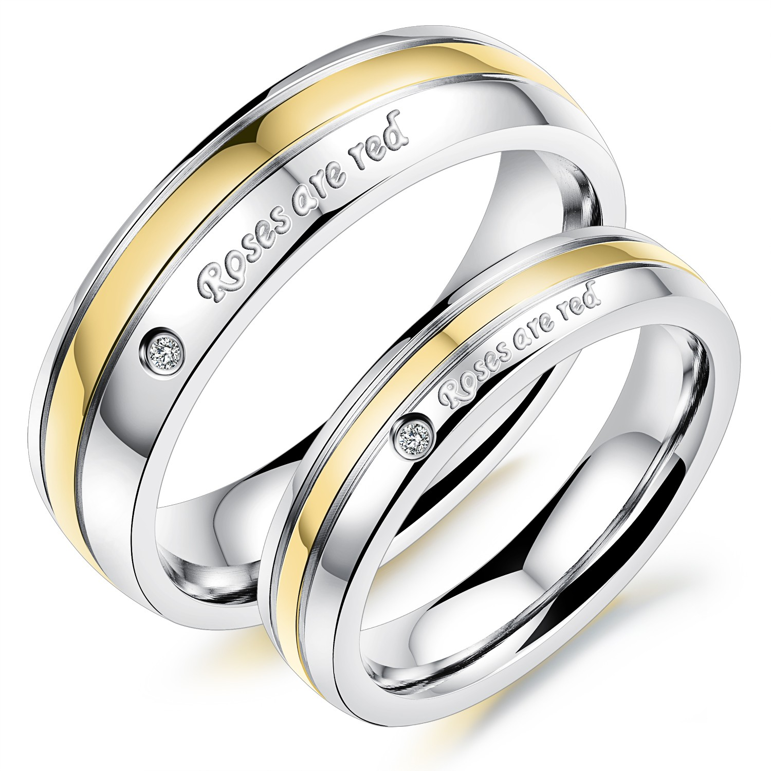 personalized rings zirconia az titanium steel forever stainless products engagement bands couple