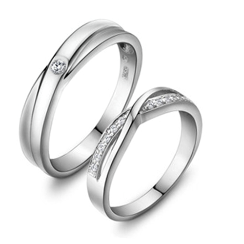 e29ca83f50 Elegant And Unique Hollow 925 Sterling Silver Couple Ring - Couple Rings