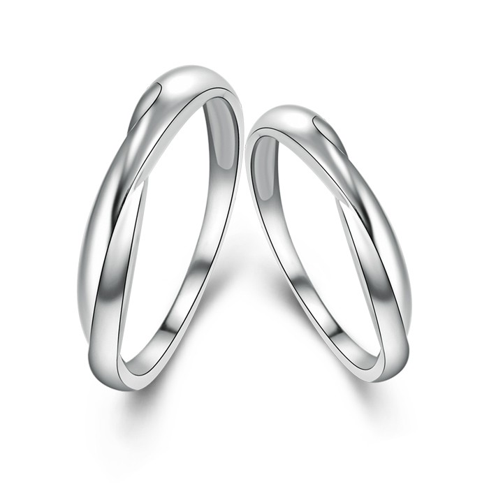 silver item handmade buy shop sterling livemaster rings on stacking twisted online jewelry
