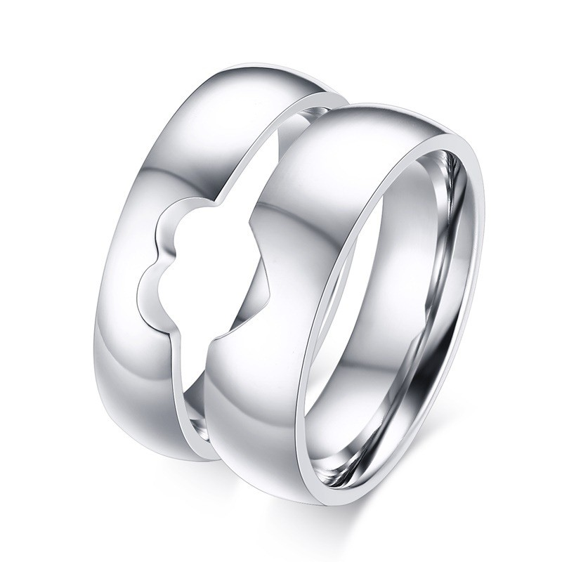 43e971c4b9 New Creative Sweet Love Puzzle Couple Rings - Couple Rings