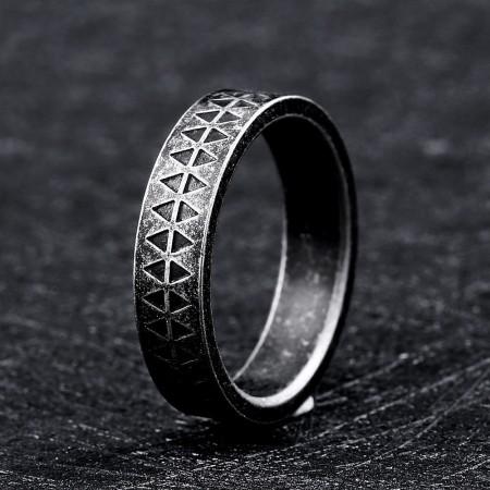 Personalized Titanium Steel Men's Rings