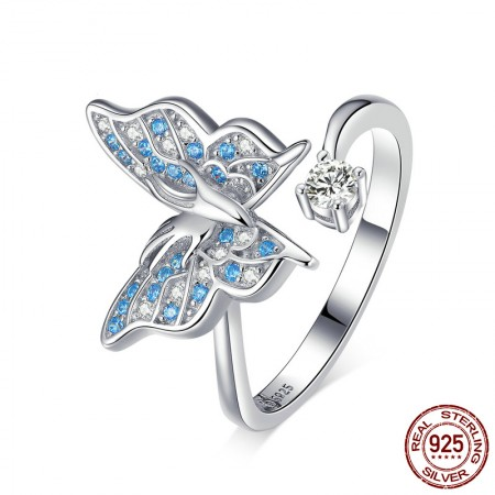 High Quality 925 Silver Butterfly Ring For Her
