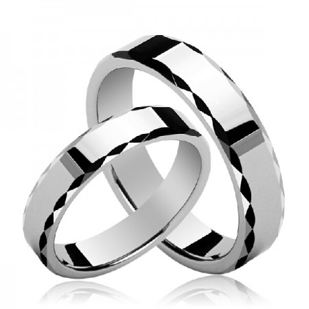High Quality Tungsten Couple Rings(Price For a Pair)