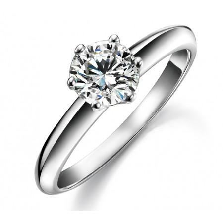 New Fashion Graceful Big Diamond Women's Ring