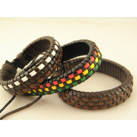 Classical Handmade Leather Bracelet