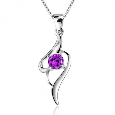 The Grandeur Of The Art Women's Sterling Silver Necklace