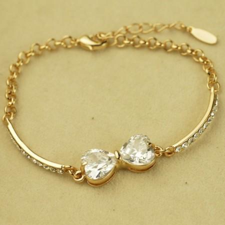 Elegant Crystal Bowknot Women's Fashion Bracelet