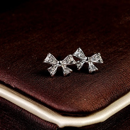 Coolest Cute Crystal Bowknot Women's Fashion Earring