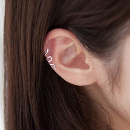 Snake Shape Allergic Free Alloy Single Women's Ear Cuff