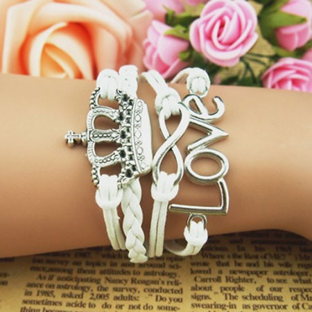 Handsome Flower Dream Braided Retro Bracelet
