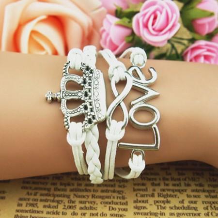 Handsome Flower Dream Braided Retro Bracelet
