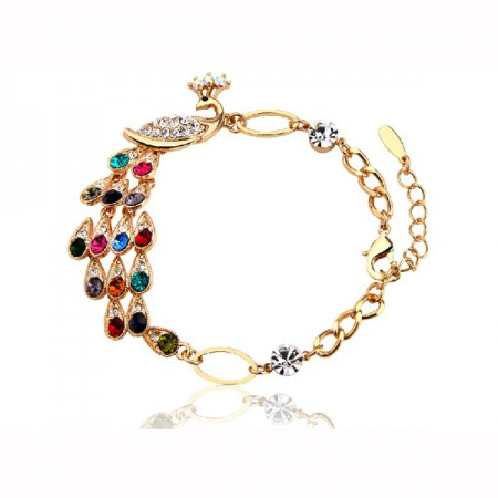 Super Shine Pretty Peacock Women's Bracelet