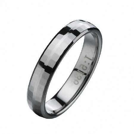 In Stock Unisex Tungsten Ring For Different Sizes For Men And Women