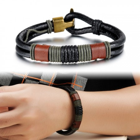 Men's Leather Bracelet Best Seller Vintage Bracelet
