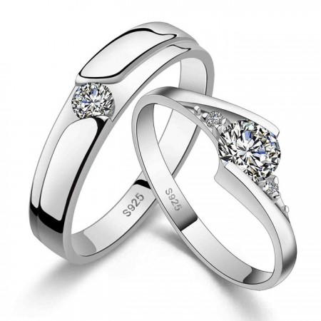 Romantic 925 Silver Lover Ring