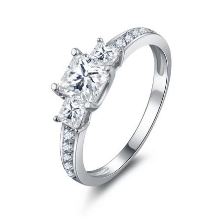 Married SONA Diamond 925 Sterling Silver Rings
