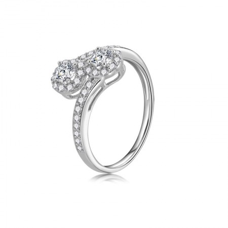 925 Sterling Silver Ring Birthday Gift Fashion Simple Ring