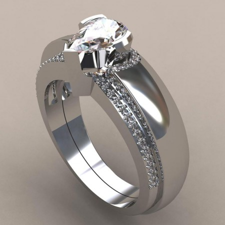 Personalized Promise/Wedding/Engagemen Ring