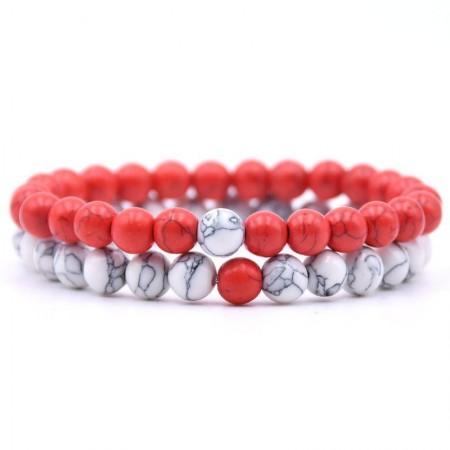 Distance Bracelets - Red