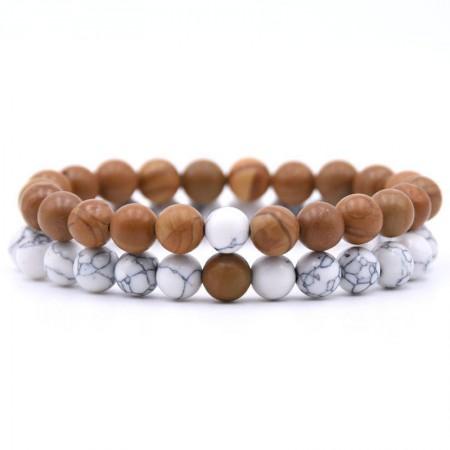 Distance Bracelets - Wood