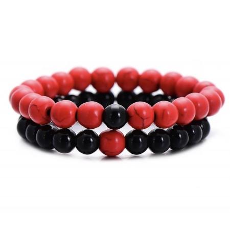 Crimson Red Distance Bracelets