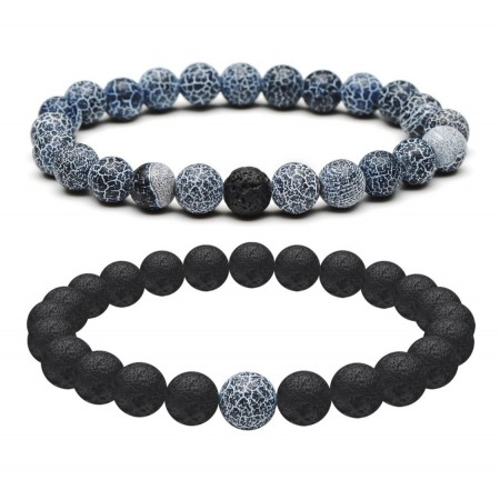 Denim Distance Bracelets