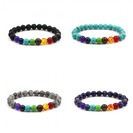 Hot Selling 7 Chakra Energy Bracelet