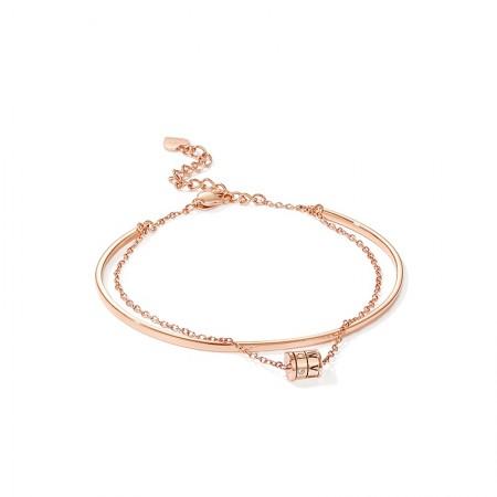 Unique Rose Swing Bracelet For Womens In Titanium