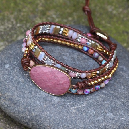 Unique Bohemian Ethnic Beaded Bracelet For Women