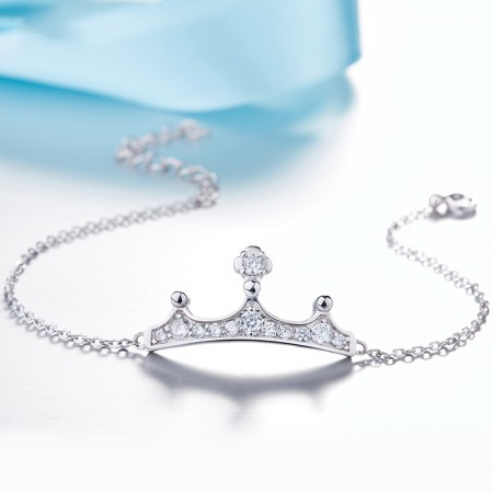 Korean Fashion Creative Sweet Crown Bracelet