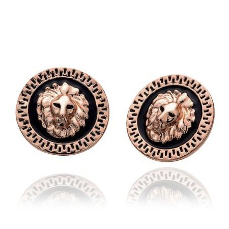 Creative Retro Lionhead Earrings