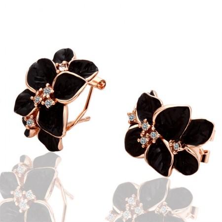 Exaggerated Diamond Earrings
