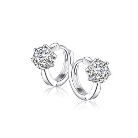 Elegant Temperament Personality 925 Silver Fashion Ring Earrings