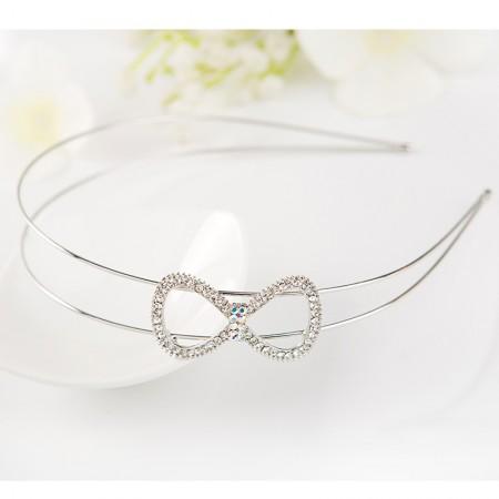 1Pcs Fashion Sweet Girls Women Rhinestone Flower Butterfly Headbands