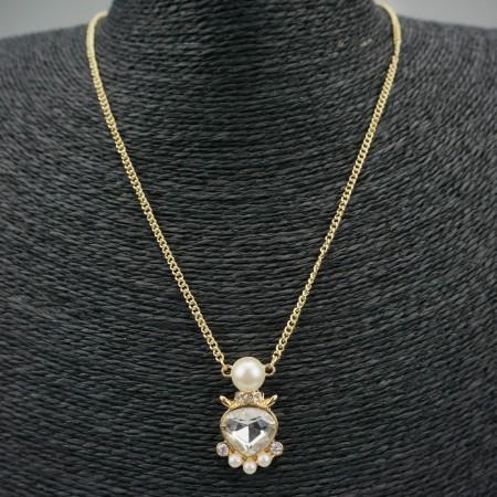 Retro Fashion Pearl Necklace