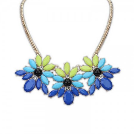 New Fluorescence Long Sweater Necklace