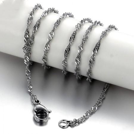 Wave Type Titanium Steel Chain