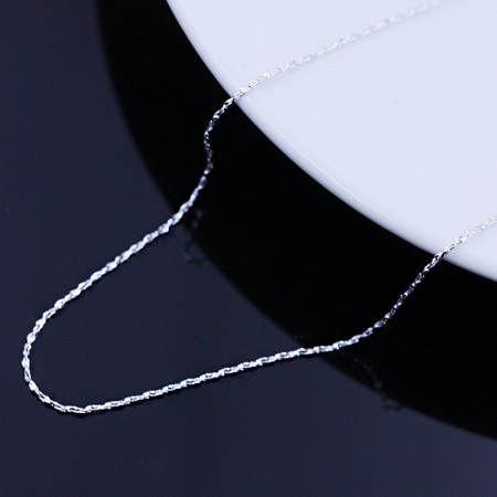 925 Silver Starry Clavicle Chain