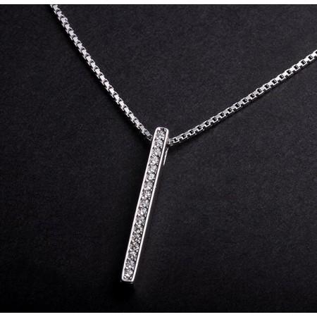 Custom 925 Silver Long Necklace