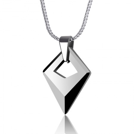 Tungsten Gold Pendant Men'S Necklace
